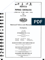 Navco Pipe Data Log