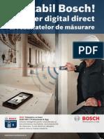 Bosch - Telemetru Cu Laser GLM 100 C Professional