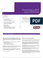 MYOB BAS Processing Guide