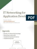 Networkingforapplicationdevelopers Roykim 110904150708 Phpapp02
