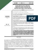 N-1591 Ligas Metalicas e Metais - Teste Pelo Ima e Por Ponto