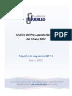 Analisis Presupuesto 2012 (1)