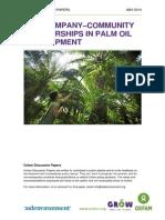 Fair Company–Community Partnerships in Palm Oil Development