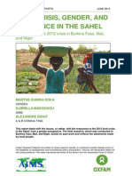 Food Crisis, Gender, and Resilience in the Sahel