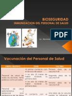 Clase 08 Bioseguridad Inmunizacion de Personal de Salud