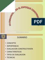 Evaluacion Enfoque Constructivista 1