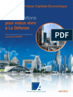 Paris Capitale Economique, Propositions Pour Mieux Vivre à La Defense
