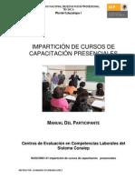 Manual Participante Imparticic3b3n de Cursos Cap Presenciales