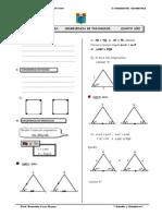 Sesion de Aprendizaje de Congruencia de Triangulos Ccesa4