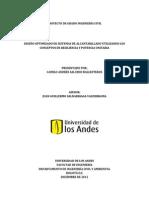 DISEÑO OPTIMIZADO DE SISTEMAS DE ALCANTARILLADO USANDO CONCEPTOS DE RESILIENCIA Y POTENCIA UNITARIA.pdf