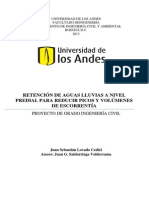 RETENCI_N DE AGUAS LLUVIAS A NIVEL PREDIAL PARA REDUCIR PICOS Y VOL_MENES DE ESCORRENT_A.pdf