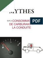 Mythes sur la consommation de carburant et la conduite