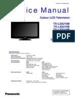 TX-L32U10B TX-L32U10E TX-L37U10B TX-L37U10E