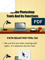 Adobe Photoshop Report about Tools