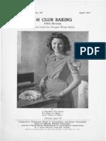 4-H Club baking
