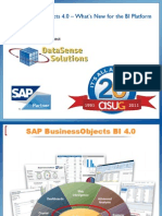 SAP BusinessObjects 4.0 – What's New for the BI Platform (2011!07!28)