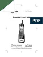 5800 Manual