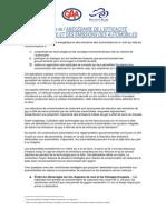 Sommaire de l'ABÉCÉDAIRE DE L'EFFICACITÉ ÉNERGÉTIQUE ET DES ÉMISSIONS DES AUTOMOBILES