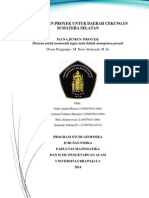 Proposal Menejemen Proyek Sumatera Selatan