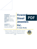 Howard Street Jewelers Inc.Case Study