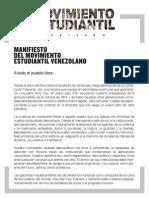 Manifiesto Move Studia Ntil