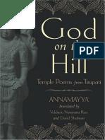 Annamayya - God on the Hill