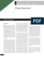 Diseño de Experimentos
