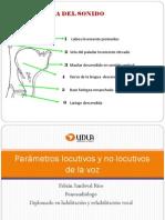 Evaluacion Parametros No Locutivos de La Voz