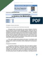 La Lectura y Las Matematicas