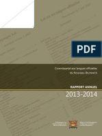 Rapport Annuel 2013-2014 (1)