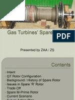 Gas Turbines' Spare Rotor