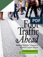 Foot Traffic Ahead