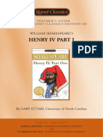 Henry IV Part1 Teacher's Guide