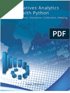 Y Hilpisch Derivatives Analytics Excerpt   Greeks (Finance
