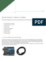 Arduino - Windows