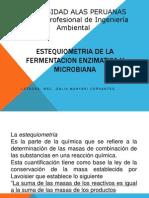 Estequiometria de La Fermentacion Enzimatica y Microbiana p