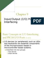 input output port and interfacing
