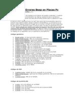 Codigos de Errores Beep en Placas Pc.docx