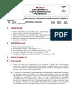 Modelo P004 Acao Preventiva e Corretiva 1 ed ISO 27001.doc