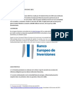 Banco Europeo de Inversiones (1)