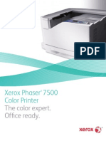 Xerox Phaser 7500 - Brochure