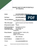 6207 Present Scenario and Future Potential of Takaful1