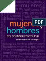Mujeres y Hombres Del Ecuador en Cifras III