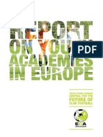 ECA Report on Youth Academies