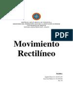 Fisica Movimiento Rectilinio Uniforme