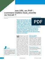 Les Addresses URL en PHP - Comment Mettre Mod_rewrite Au Travail - 06.2006