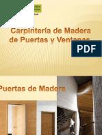 13 Puertas y Ventanas de Madera