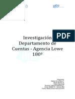 Investigación Departamento de Cuentas