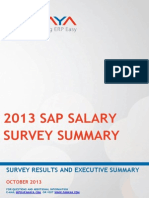 SAP Salary Survey 2013 NEW