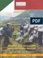 Aportes a La Educación Entre Personas Adultas